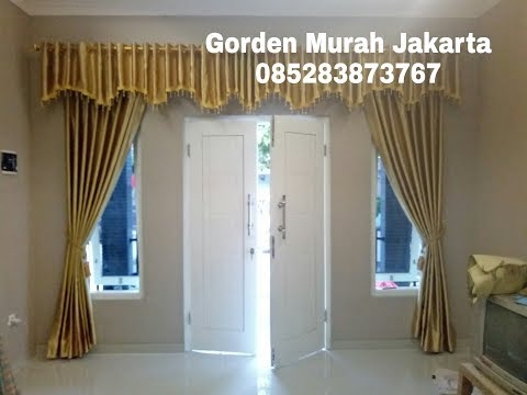 Gorden Blackout Model Gorden Poni / Curtains Decoration