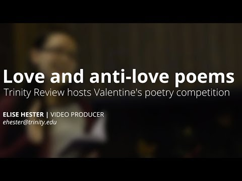 Love and Anti Love Poetry Contest