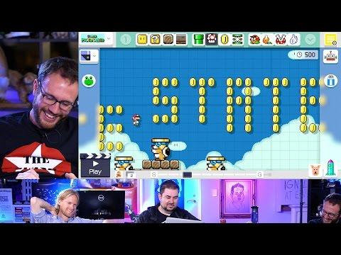 Giant Bomb Makes Mario