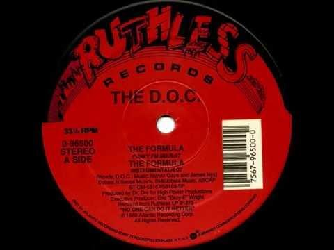 The D.O.C. - The Formula (Instrumental)