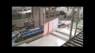 Semi Automatic Sheet Fed Paper Bag Making Machine CBS 1100+350