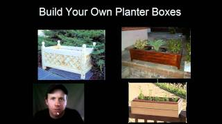 Build Your Own Planter Boxes