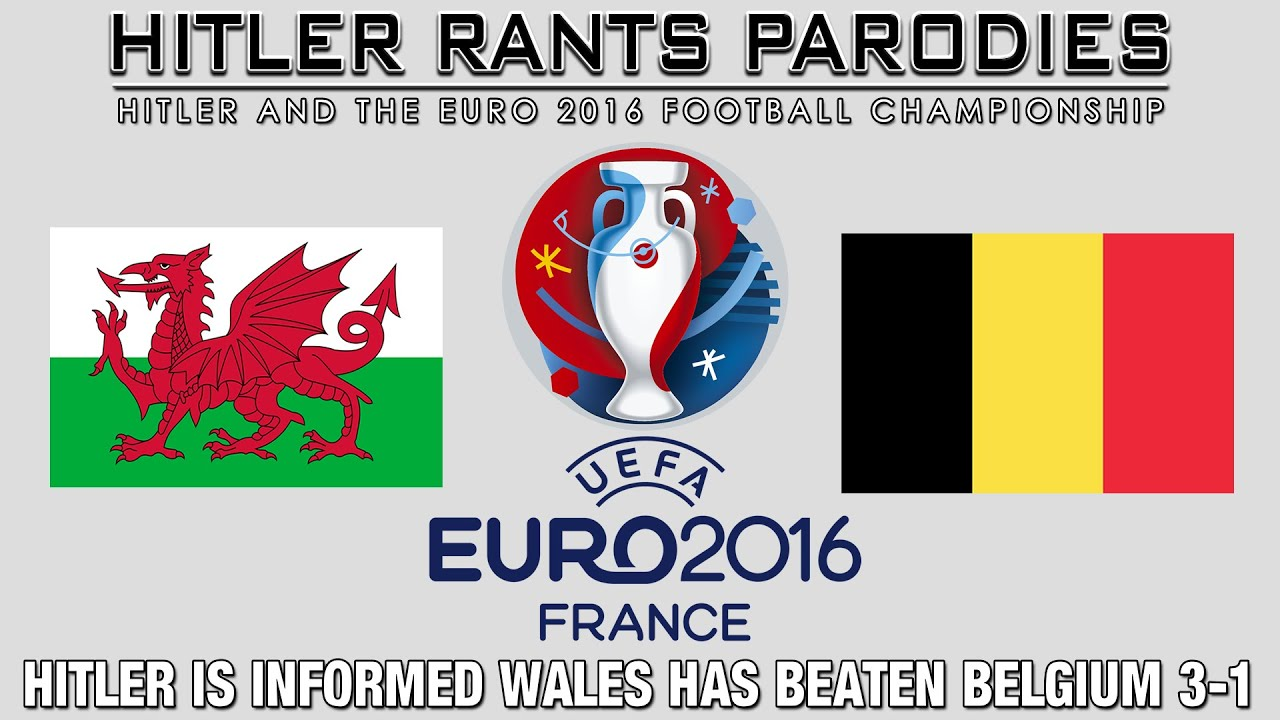 Hitler is informed Wales has beaten Belgium 3-1