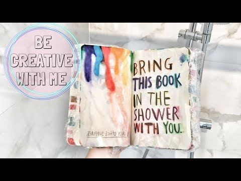 Be creative with me ☆ Wreck this journal