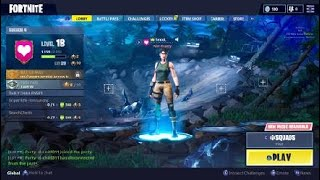 Fortnite PS4 - Looking For Loot On The Squad Match