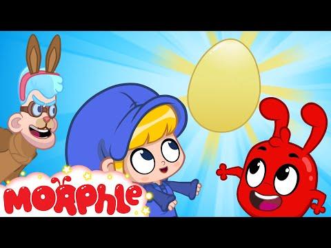 The Easter Egg Bandits - Mila and Morphle Easter   BRAND NEW   Cartoons for Kids   Morphle TV