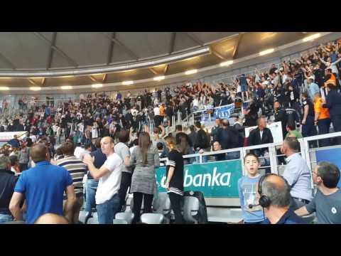 KK Zadar - KK Cibona: Policija i navijači
