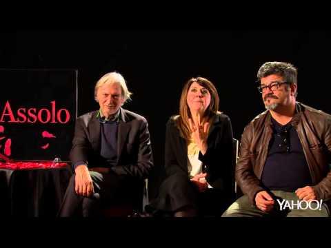 """Laura Morante regista in """"Assolo"""", con Pannofino, Crescentini e Gigio ALberti"""