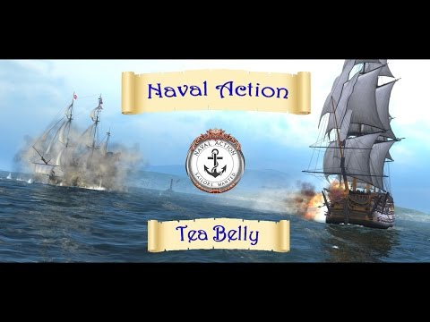 Naval Action - Tutorial - Demast & Capture with Basic Cutter