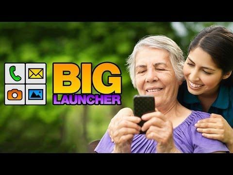 BIG Launcher Easy Phone DEMO