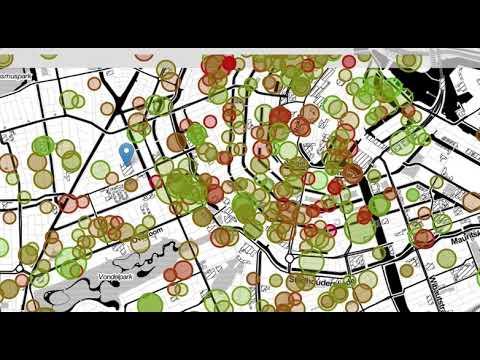 Amsterdam Rental Prices - Interactive Visualization