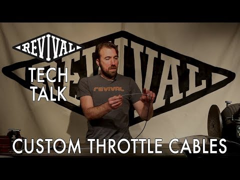 Revival Cycles Tech Talk - Custom Throttle Cable Kits