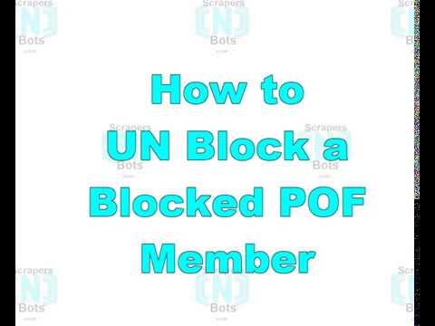 Can You Unblock Blocked Plenty Of Fish Member? YES!! Here Is How ...