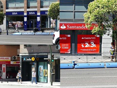 Living in Spain - Spanish banks