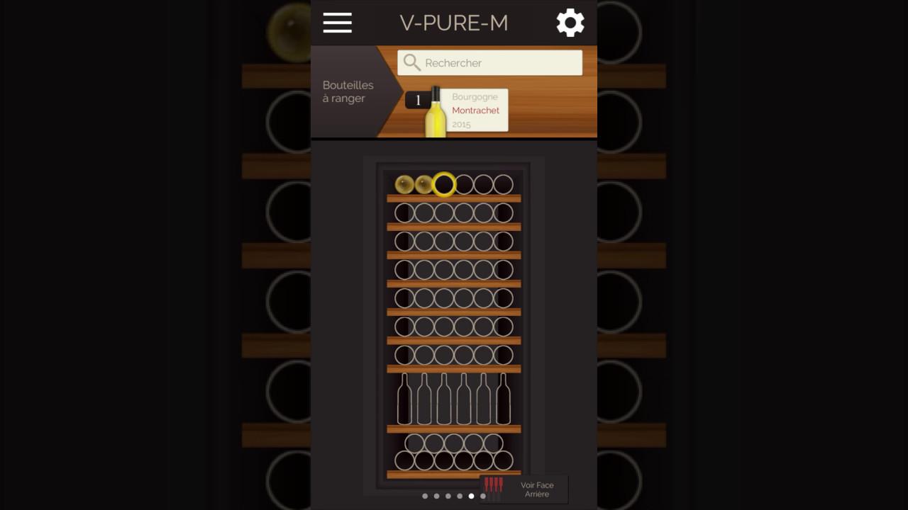 tuto application eurocave comment positionner des bouteilles dans la cave vin youtube. Black Bedroom Furniture Sets. Home Design Ideas
