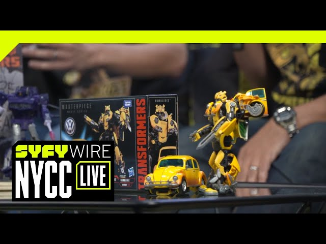 Bumblebee Toy Line Exclusive | NYCC 2018 | SYFY WIRE