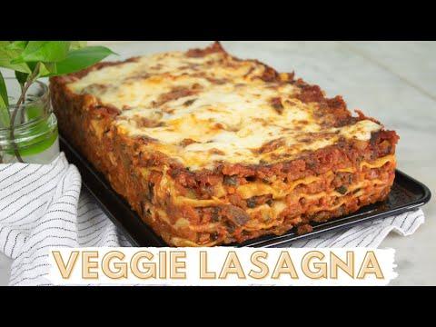 How to Make Vegetarian LASAGNA (Italian Style)