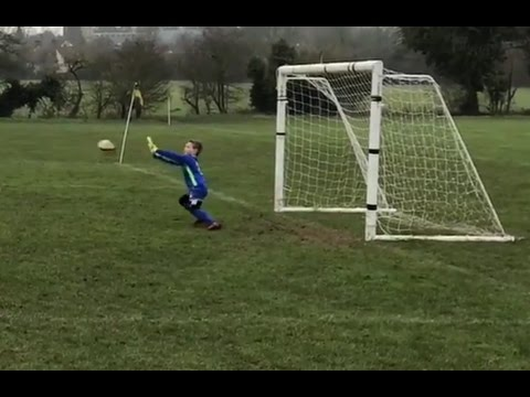 WATCH 7 year old Goalkeeper make GREAT SAVES in today&39;s football match