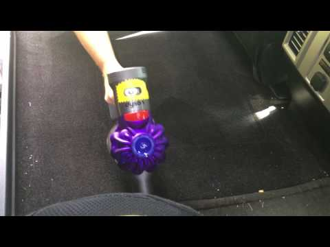 Dyson V7 - cleaning F150