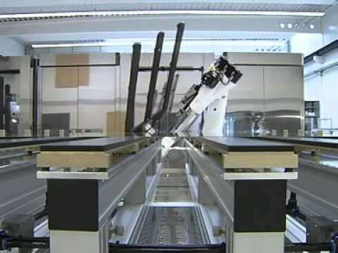 Handling Of Lcd Glass Panels In The Clean Room With A Kuka