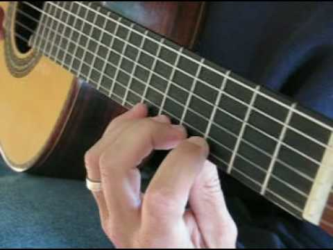 Beginning Cl Ical Guitar Exercise