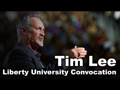Tim Lee - Liberty University Convocation