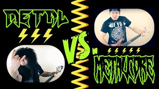 Metal VS Metalcore