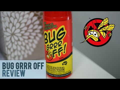 Bug Grrr Off Natural Insect repellent Review