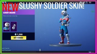 [NEW] SLUSHY SOLDIER SKIN! Daily Item Shop (Season 7) Fortnite Battle Royale! 12/13/18