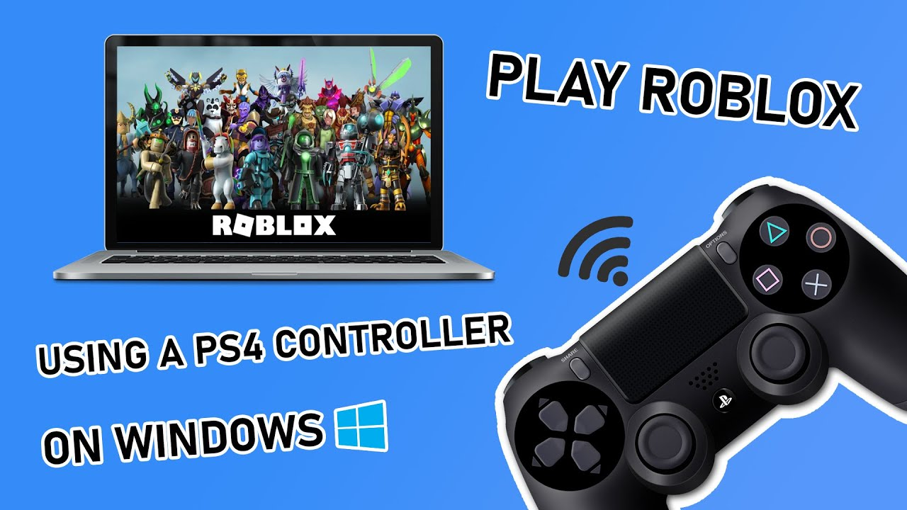 How To Play Roblox On Pc With Ps4 Controller