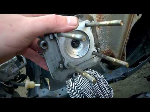 Замена поршневой Honda Dio AF34 35