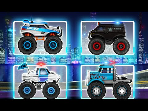 Monster Truck Police Racing Android Gameplay HD