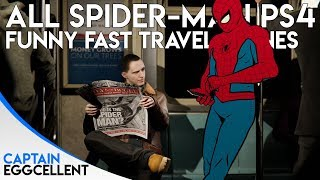 All Spider-Man PS4 Funny Fast Travel Scenes