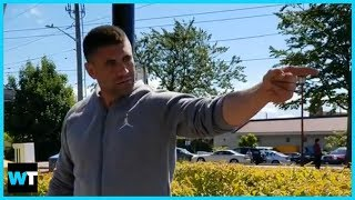 "Seattle Man's Crazy RACIST RANT: ""White Man Built These Streets!"" 