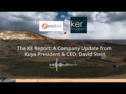 KE Report Interview with David Stein -  2021 plans at Bethania and LOI with First Cobalt