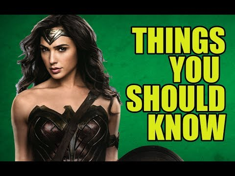 Wonder Woman - Facts You Didn