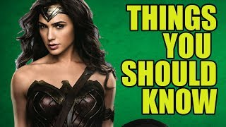 Wonder Woman - Facts You Didn't Know