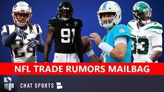 NFL Trade Rumors On Yannick Ngakoue, Stephon Gilmore, Josh Rosen, Jamal Adams & Mitch Trubisky