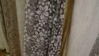 Тюль органза. 4745. Узор - мелкие цветы. Цвет серый. Тюль в городе Украинка.(http://rodus.com.ua/ http://rodus.com.ua/tyul/4406/tyul-70-detail.html Салон-магазин штор, гардин и ламбрекенов Изумруд, предлагает шторные..., 2015-01-19T10:54:38.000Z)