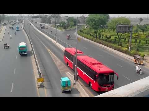میٹرو بس لاہور