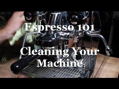 Cleaning Your Espresso Machine - Coffeefusion Espresso 101