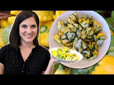 How To Cook Pattypan Squash | AKA Scalloped Squash, Custard Squash, Sunburst Squash | Food 101