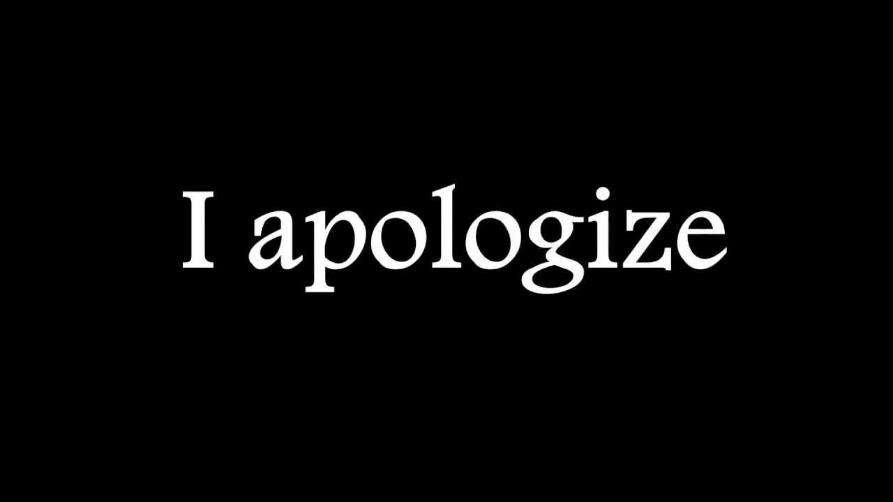 Five Finger Punch I Apologize Lyrics