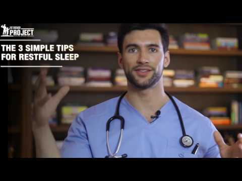 3 Tips To Sleep Better – Wake Up With More Energy, Pep, & Motivation with VO