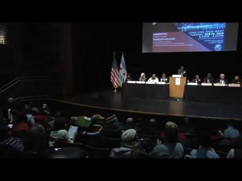 Chicago Urban League/Chicago Police Board Community Input Session: CPD Superintendent Selection