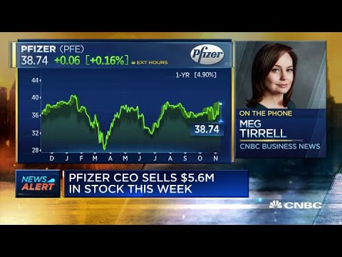 Pfizer CEO sold $5.6 million stock in pre-planned sale on day of vaccine news release