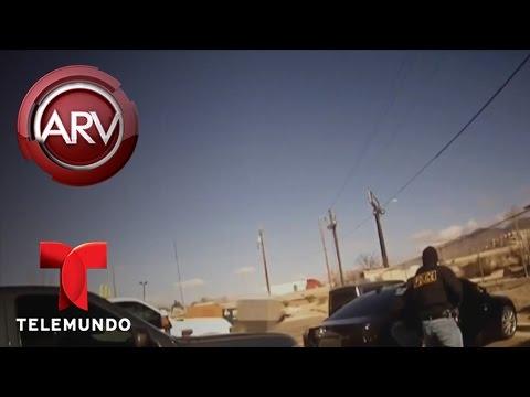 Policía recibe 9 balazos de su colega durante operativo   Al Rojo Vivo   Telemundo
