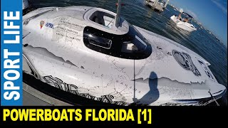 Sport boats [Part 1] powerboat racing event show teams equipment by Jarek Clearwater Florida USA