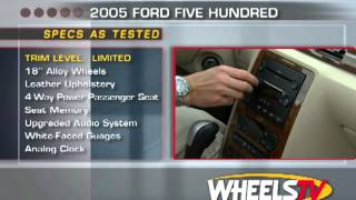 2005 Ford Five Hundred Test Drive
