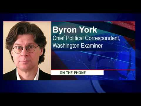 Byron York, Chief Political Correspondent at the Washington Examiner